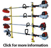4 Place Trimmer Rack